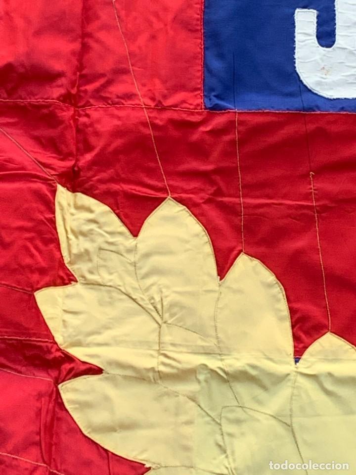 Militaria: bandera cruz roja blanca jocf quiza francia124x126cms - Foto 8 - 236908240
