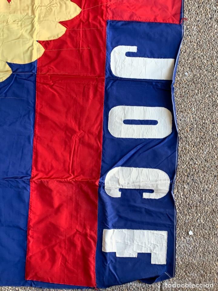 Militaria: bandera cruz roja blanca jocf quiza francia124x126cms - Foto 9 - 236908240