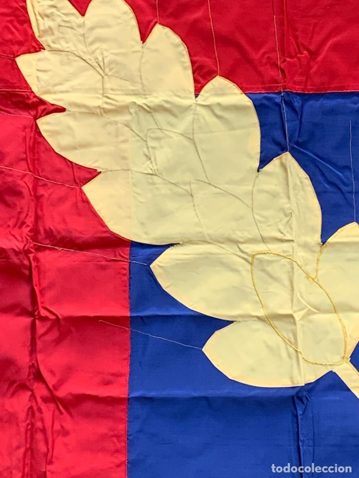 Militaria: bandera cruz roja blanca jocf quiza francia124x126cms - Foto 10 - 236908240