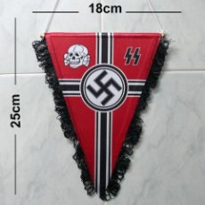 Militaria: BANDERÍN WAFFEN SS. Lote 237185155