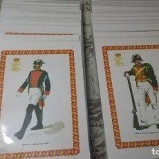 Militaria: COLECCIÓN LÁMINAS UNIFORMES HISTORICOS DE LA GUARDIA CIVIL.. Lote 237374090