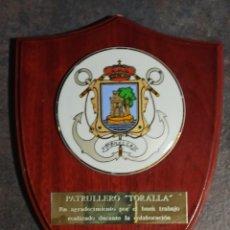 Militaria: METOPAS PATRULLERO TORALLA ARMADA ESPAÑOLA. Lote 240057655
