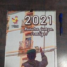 Militaria: CALENDARIO 2021 EJÉRCITO DE TIERRA ESPAÑOL. Lote 241421205