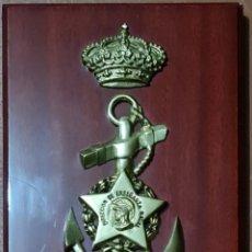 Militaria: METOPA DE LA DIRECCIÓN DE ENSEÑANZA NAVAL DE LA ARMADA ESPAÑOLA. Lote 243055990