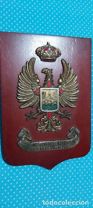 METOPA FIGUEREDO-PONTEVEDRA CENTRO I INSTRUCCIONES DE RECLUTAS N13 (Militar - Reproducciones, Réplicas y Objetos Decorativos)