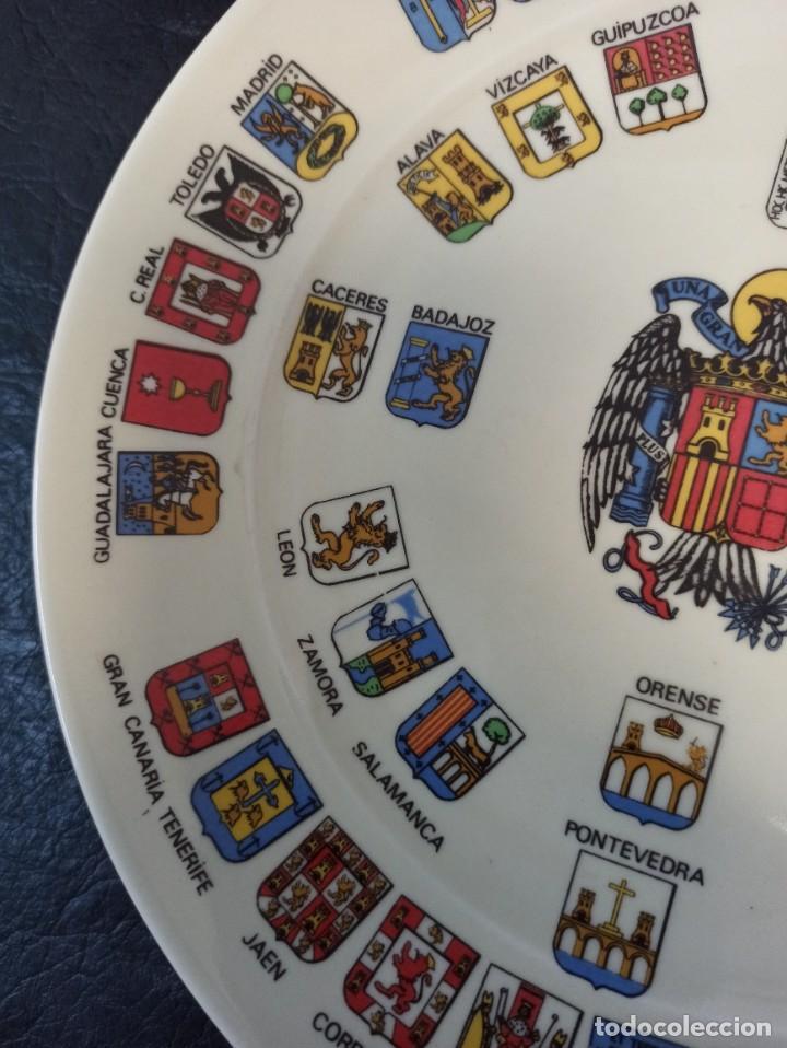 Militaria: Heráldica de España. Escudo Nacional y Provincias. Cardeña. C49 - Foto 4 - 243817615