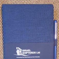 Militaria: BLOC DE NOTAS ISRAEL SHIPYARK. Lote 243856525