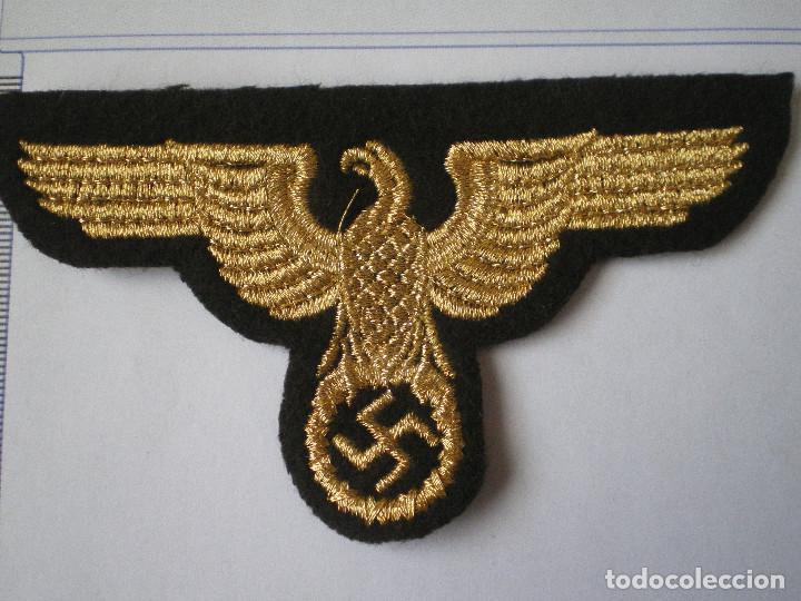 Militaria: Rara Insignia de Brazo y Gorra de un Oficial Alemán RMBO de Alto Rango - Foto 2 - 244543875