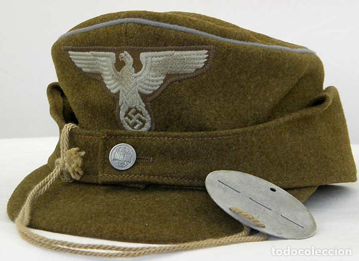 Militaria: Rara Insignia de Brazo y Gorra de un Oficial Alemán RMBO de Alto Rango - Foto 4 - 244543875