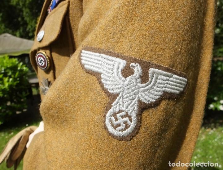 Militaria: Rara insignia para Oficial Alemán en los Territorios Ocupados del Este (RMBO) - Foto 4 - 244544430