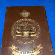 Militaria: METOPA SERVICIO DE PSICOLOGIA DE LAS FUERZAS ARMADAS - MIDE 22 X 15,50 CMS.. Lote 244891995