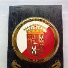 Militaria: METOPA DE LA LEGIÓN, TERCIO SAHARIANO, D.JUAN DE AUSTRIA, VIII BANDERA COLON. Lote 247465580