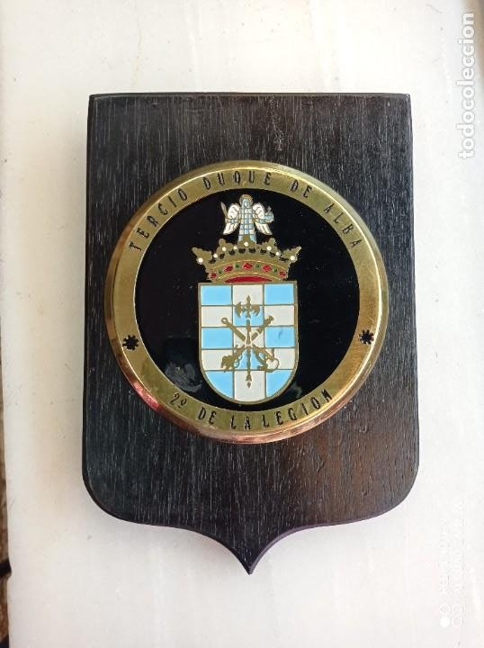 METOPA DE LA LEGIÓN TERCIO DUQUE DE ALBA (Militar - Reproducciones, Réplicas y Objetos Decorativos)