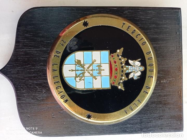 Militaria: Metopa de la Legión tercio Duque de Alba - Foto 2 - 247482480