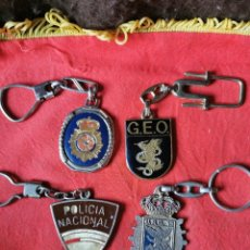 Militaria: LOTE 1.LLAVEROS POLICÍA NACIONAL-POLICÍA ARMADA.AÑOS 70-80. Lote 248972730