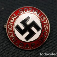 Militaria: REPRODUCCIÓN INSIGNIA PARTIDO NAZI. Lote 280488553