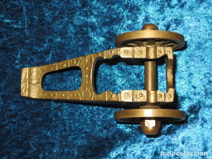 Militaria: Antiguo cañón bronce reproducción artesanía militar relieves grabados - Foto 20 - 254824825