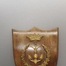 Militaria: ANTIGUA METOPA ESCUELA TÉCNICA SUPERIOR DE INGENIEROS DE ARMAS NAVALES (ETSIAN). Lote 255372790