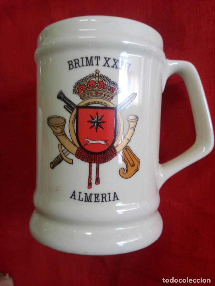 JARRA BRIMT XXIII ALMERÍA (Militar - Reproducciones, Réplicas y Objetos Decorativos)