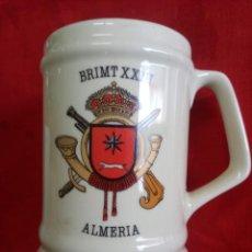 Militaria: JARRA BRIMT XXIII ALMERÍA. Lote 255932790