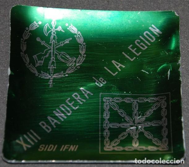 Militaria: CENICERO DE LA XIII BANDERA INDEPEDIENTE DE LA LEGION EN EL AFRICA OCCIDENTAL ESPAÑOL AOE SIDI IFNI - Foto 2 - 257531770