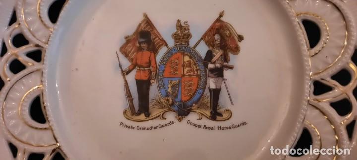 Militaria: Guardia real inglesa, plato victoriano, siglo xix - Foto 2 - 259043265