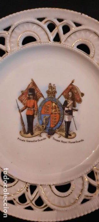Militaria: Guardia real inglesa, plato victoriano, siglo xix - Foto 4 - 259043265