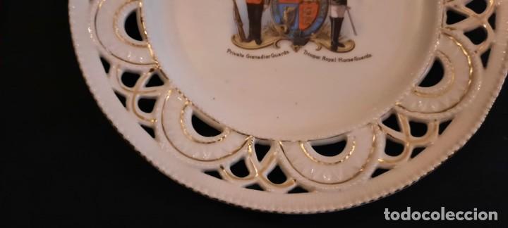 Militaria: Guardia real inglesa, plato victoriano, siglo xix - Foto 5 - 259043265