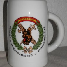 Militaria: JARRA GUARDIA CIVIL - ESCUELA DE ADIESTRAMIENTO DE PERROS - POLICIAS. Lote 260566740