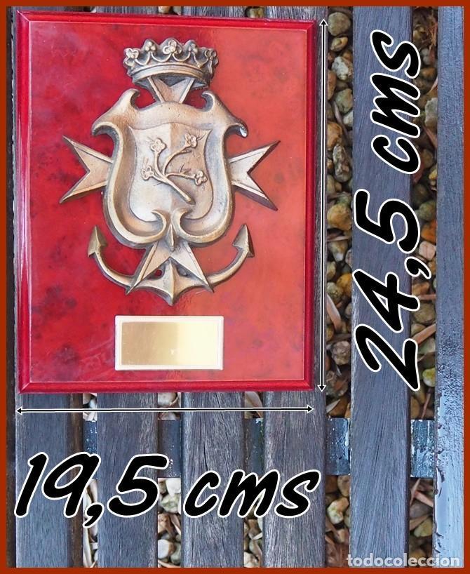 155/766..A 31 B.H MALASPINA.....MIDE.....24,5 X 19,5 CMS.....PESA...........1,400 KGS (Militar - Reproducciones, Réplicas y Objetos Decorativos)