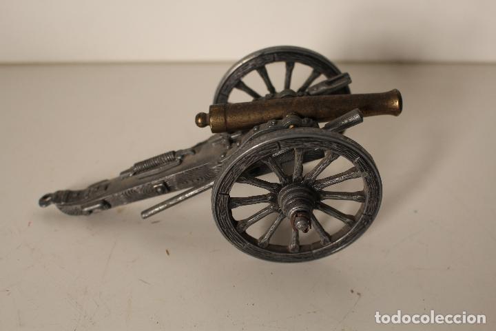 Militaria: cañon metal y bronce - Foto 3 - 262835620