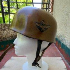 Militaria: CASCO PARACAIDISTA ALEMÁN CUSTOMIZADO. ALEMANIA NAZI. Lote 263010050