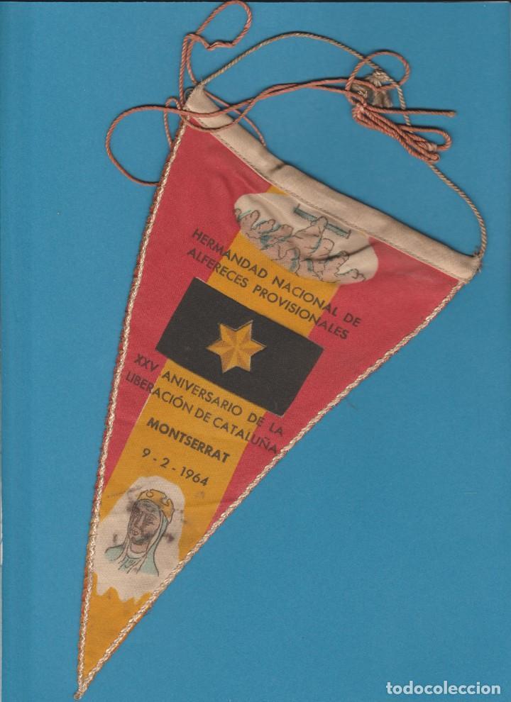 BANDERIN HERMANDAD NACIONAL DE ALFERECES PROVISIONALES. (Militar - Reproducciones, Réplicas y Objetos Decorativos)