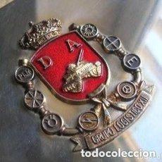 Militaria: ESPECTACULAR Y MUY DECORATIVA CAJA DE PUROS. REGIMIENTO INFANTERIA ACORAZADA ALCAZAR DE TOLEDO 61.. Lote 264260844