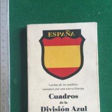 Militaria: CUADROS DE LA DIVISIÓN AZUL, FACSÍMIL CARPETILLA COMPLETA 12 POSTALES, ÚLTIMOS EJEMPLARES. Lote 266433268