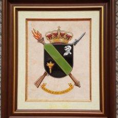 Militaria: CUADRO METOPA DE LA AGRUPACIÓN DE APOYO LOGÍSTICO Nº1. Lote 267424399