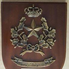 Militaria: METOPA DE LA ESCUELA SUPERIOR DE LAS FUERZAS ARMADAS. Lote 267424439