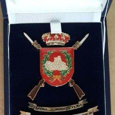Militaria: CUADRO - METOPA EN ESTUCHE DE LA BRIGADA DE INFANTERÍA ACORAZADA -GUADARRAMA XII-. Lote 267424599