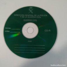 Militaria: CD OFICIAL DE LA DIRECCION GENERAL DE LA POLICIA Y DE LA GUARDIA CIVIL - AÑO 2008. Lote 267865169