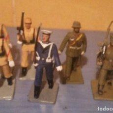 Militaria: LOTE DE SOLDADOS ESPAÑOLES DE PLÁSTICO. AÑOS 70.. Lote 269965693