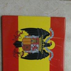 Militaria: AZULEJO BALDOSA BANDERA DE ESPAÑA CON ÁGUILA DE SAN JUAN. Lote 270086803