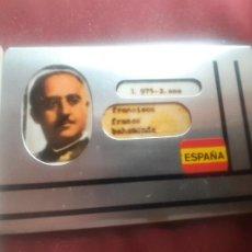 Militaria: FRANCISCO FRANCO. CARNET DE INDENTIDAD. FUNDA METÁLICA. Lote 270111178