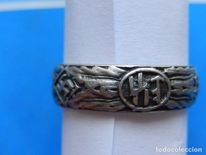 Militaria: EIO. Alemania. Alemania. Anillo de honor de las SS. Antigua copia / reproducción. - Foto 7 - 271559588