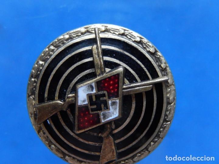 Militaria: EIO. Alemania. Insignia tirador de la Juventudes Hitlerianas. Reproducción o copia antigua. - Foto 8 - 271572443