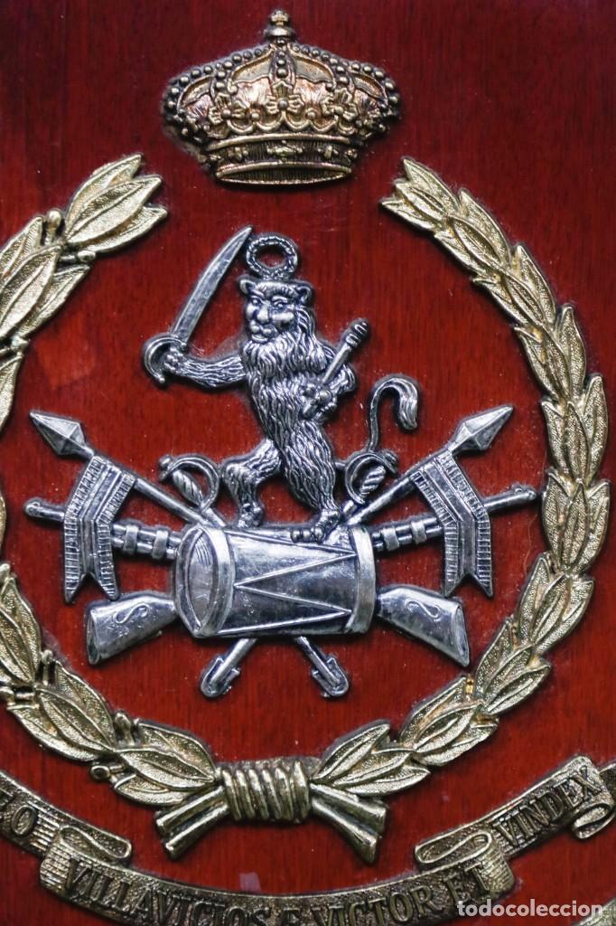 Militaria: METOPA REGIMIENTO CABALLERIA LIGERO ACORAZADO VILLAVICIOSA 14 - Foto 5 - 271575293