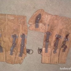 Militaria: REPLICA CARTUCHERAS CARGADORES MP-40.REPLICA. Lote 275954048