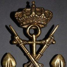 Militaria: EMBLEMA DE BRONCE INFANTERIA DE MARINA. Lote 276097993
