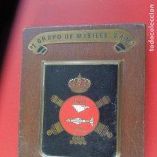 Militaria: ANTIGUA METOPA - I GRUPO DE MISILES S.A.M. - X ANIVERSARIO 1975.. Lote 277079253