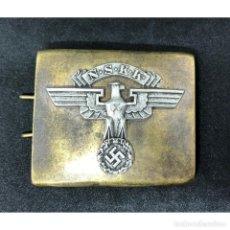 Militaria: CEINTURON BOUCLE WW2 NSKK. Lote 277218098