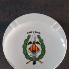 Militaria: CENICERO GOE LEVANTE JAMÁS SE DA MÁS OPERACIONES ESPECIALES. Lote 277255583